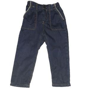 Zara boy insulated jeans size 2/3 years